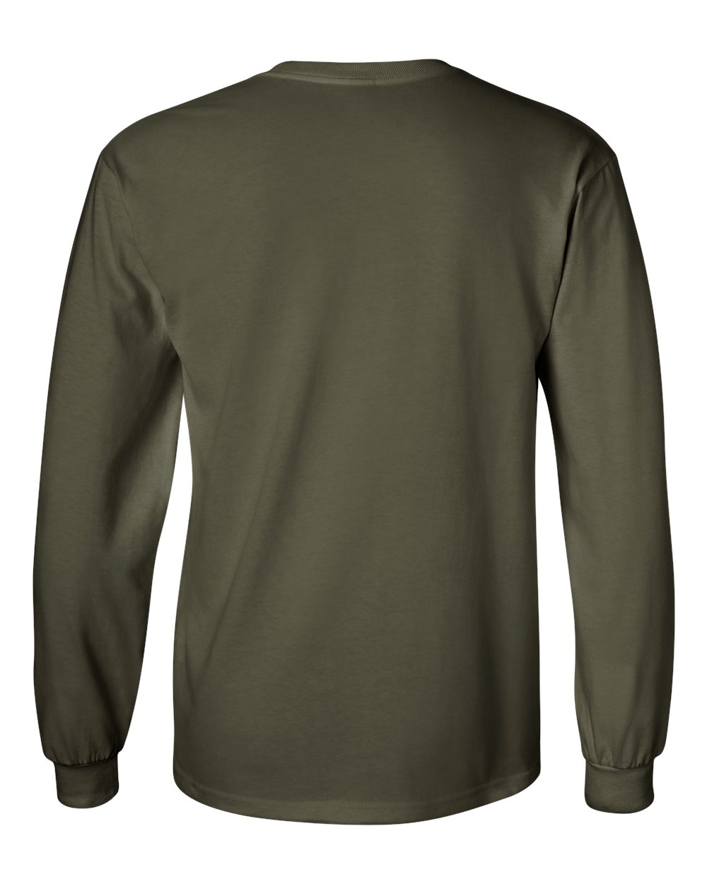 Gildan-Men-039-s-Ultra-Cotton-6-oz-Long-Sleeve-T-Shirt-G240-S-5XL thumbnail 60