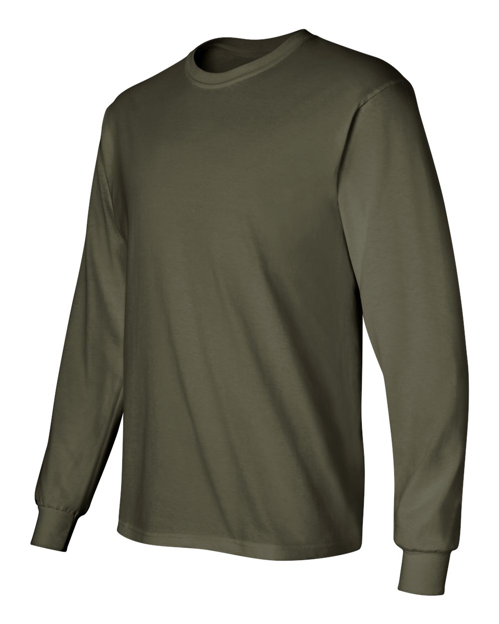 Gildan-Men-039-s-Ultra-Cotton-6-oz-Long-Sleeve-T-Shirt-G240-S-5XL thumbnail 59