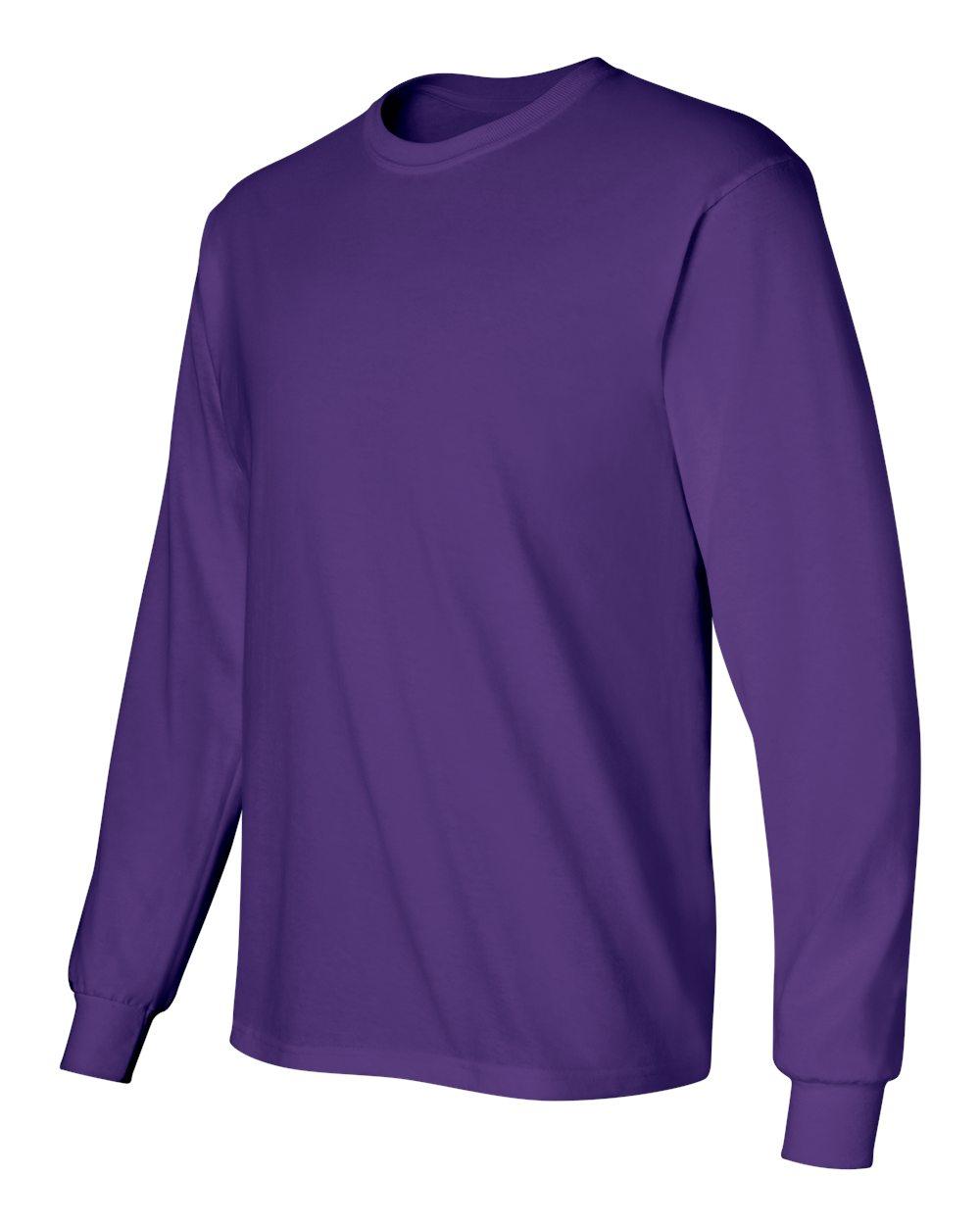 Gildan-Men-039-s-Ultra-Cotton-6-oz-Long-Sleeve-T-Shirt-G240-S-5XL thumbnail 75