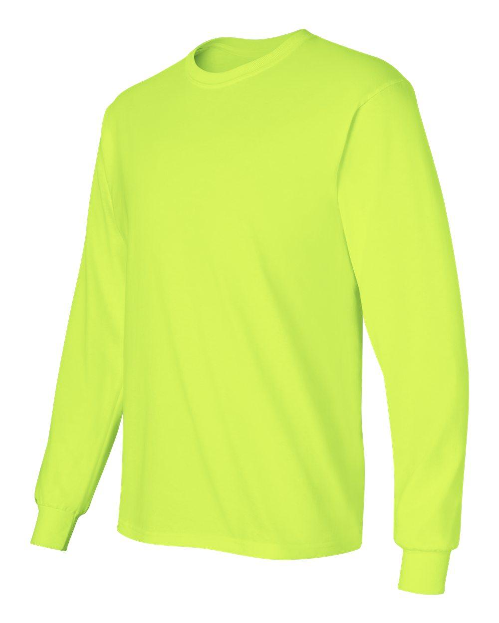 Gildan-Men-039-s-Ultra-Cotton-6-oz-Long-Sleeve-T-Shirt-G240-S-5XL thumbnail 88