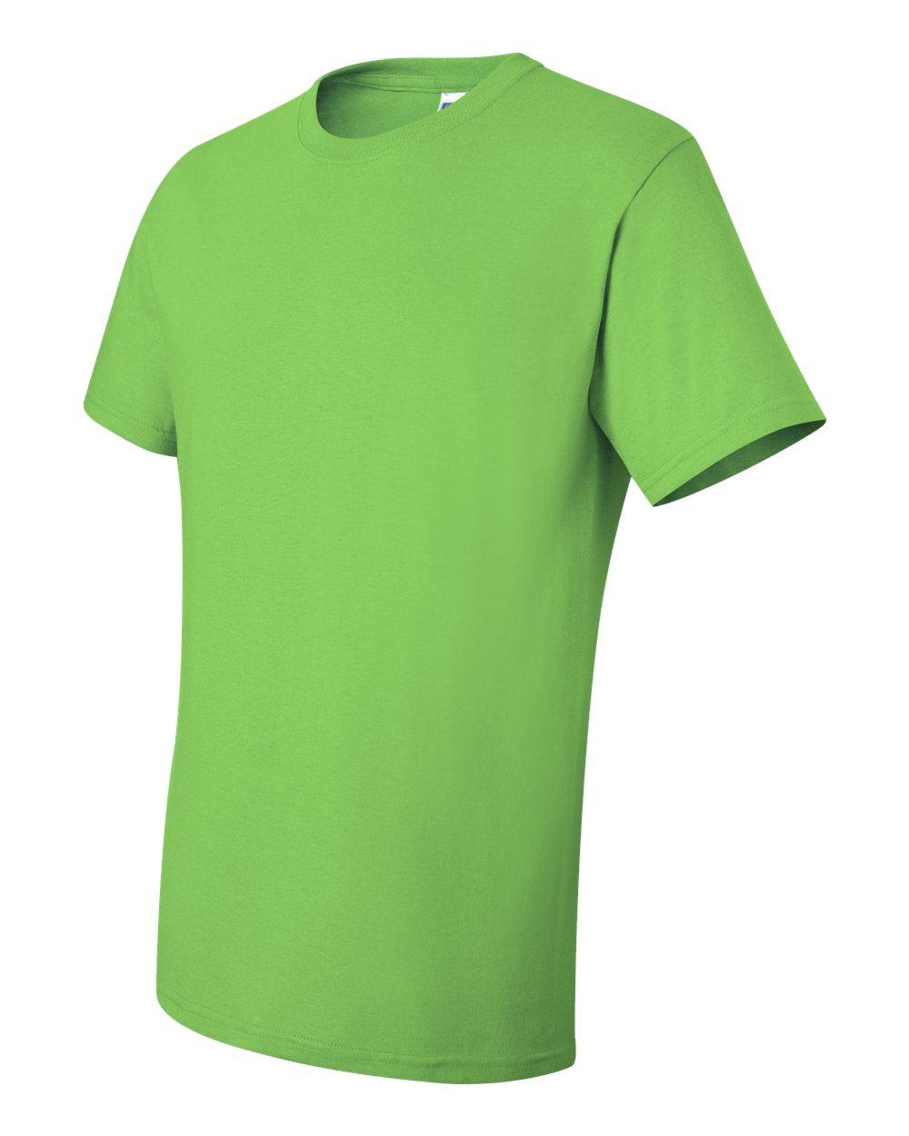 Jerzees-Men-039-s-5-6-oz-50-50-Heavyweight-Blend-T-Shirt-29M-S-4XL thumbnail 9