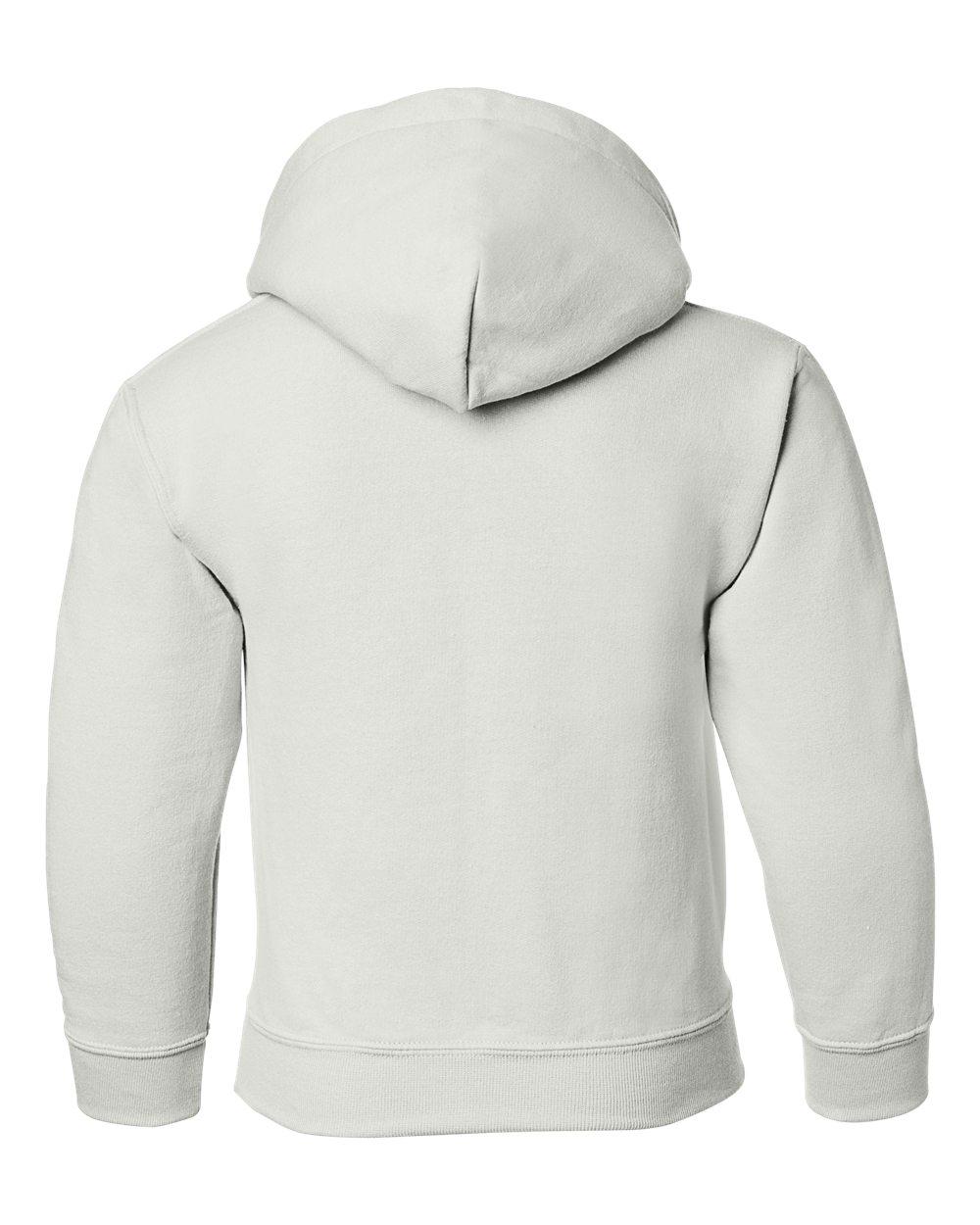 Gildan Boys Heavy Blend Hooded Sweatshirt -Graphite Heather-L G185B