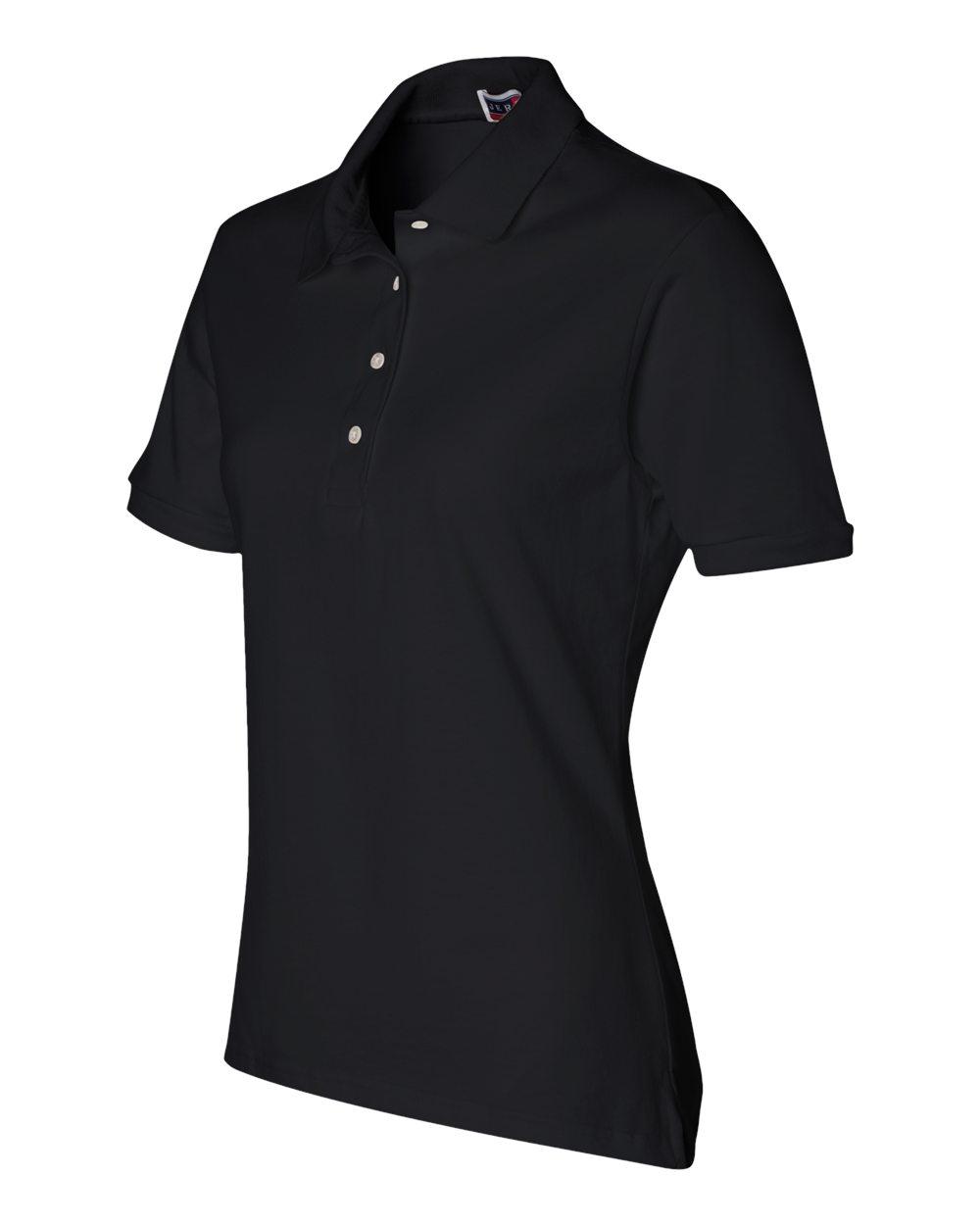 Jerzees-Women-039-s-5-6-oz-50-50-Jersey-Polo-with-SpotShield-437W-S-2XL thumbnail 15