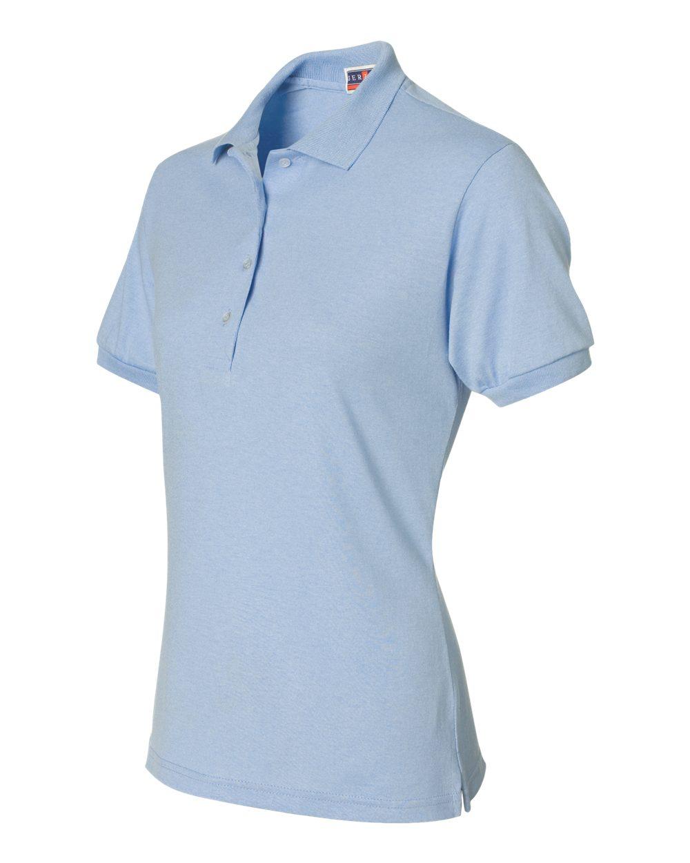 Jerzees-Womens-5-6-oz-50-50-Jersey-Polo-with-Spot-Shield-437W-Size-S-2XL thumbnail 40