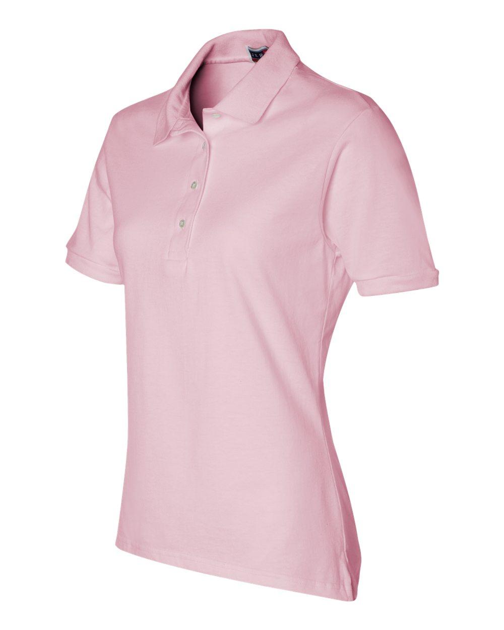 Jerzees-Womens-5-6-oz-50-50-Jersey-Polo-with-Spot-Shield-437W-Size-S-2XL thumbnail 13