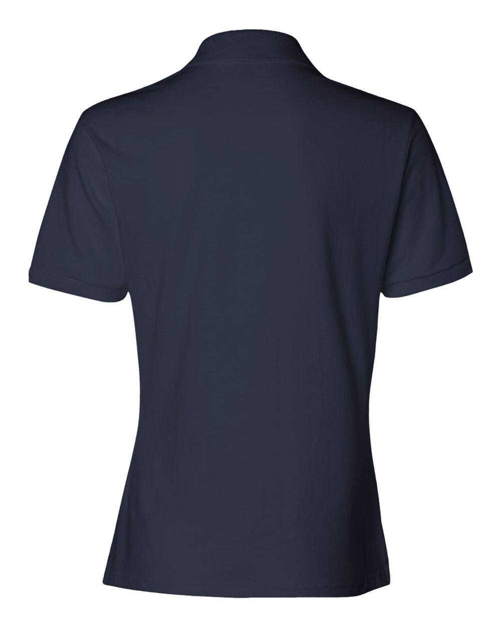 Jerzees-Womens-5-6-oz-50-50-Jersey-Polo-with-Spot-Shield-437W-Size-S-2XL thumbnail 33