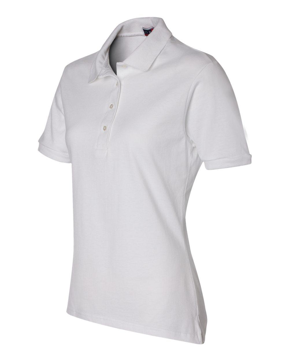 Jerzees-Womens-5-6-oz-50-50-Jersey-Polo-with-Spot-Shield-437W-Size-S-2XL thumbnail 59