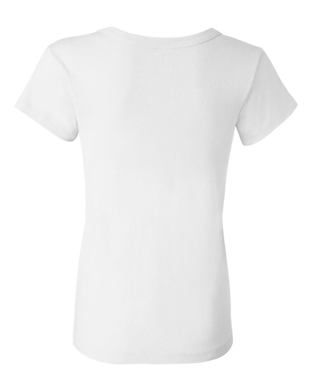 Bella-Canvas-Women-039-s-Stretch-Rib-Short-Sleeve-Scoop-Neck-T-Shirt-B1003-S-2XL thumbnail 5