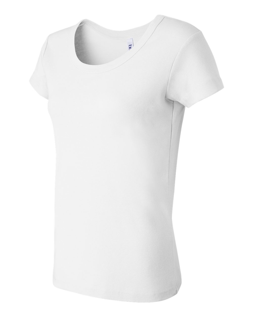 Bella-Canvas-Women-039-s-Stretch-Rib-Short-Sleeve-Scoop-Neck-T-Shirt-B1003-S-2XL thumbnail 4
