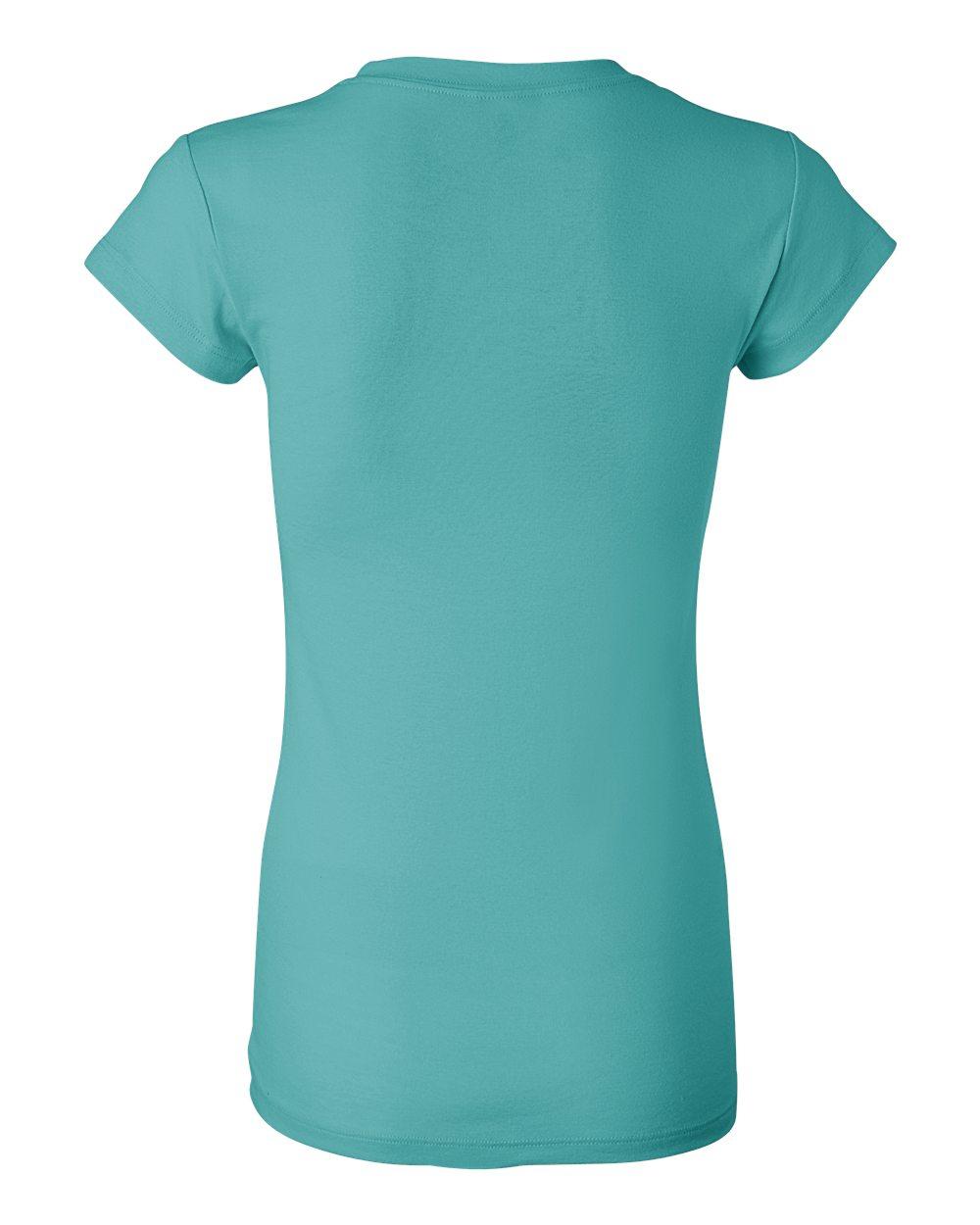 Bella-Canvas-Women-039-s-Sheer-Mini-Rib-Short-Sleeve-T-Shirt-8701-S-2XL thumbnail 25
