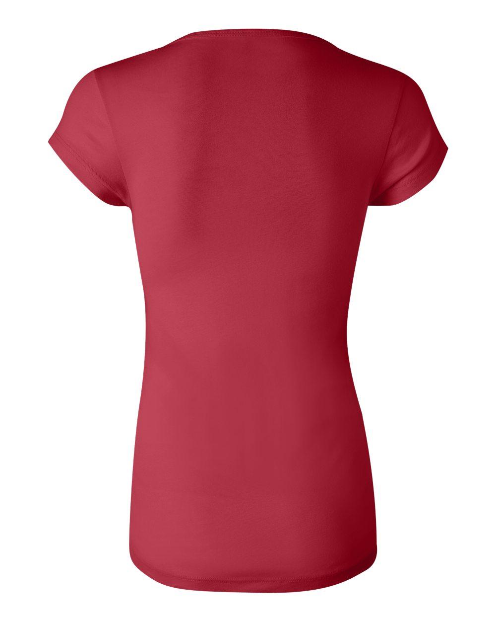Bella-Canvas-Women-039-s-Sheer-Mini-Rib-Short-Sleeve-Scoop-Neck-T-Shirt-B8703-S-2XL thumbnail 9