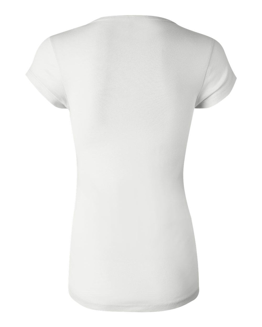 Bella-Canvas-Women-039-s-Sheer-Mini-Rib-Short-Sleeve-Scoop-Neck-T-Shirt-B8703-S-2XL thumbnail 4