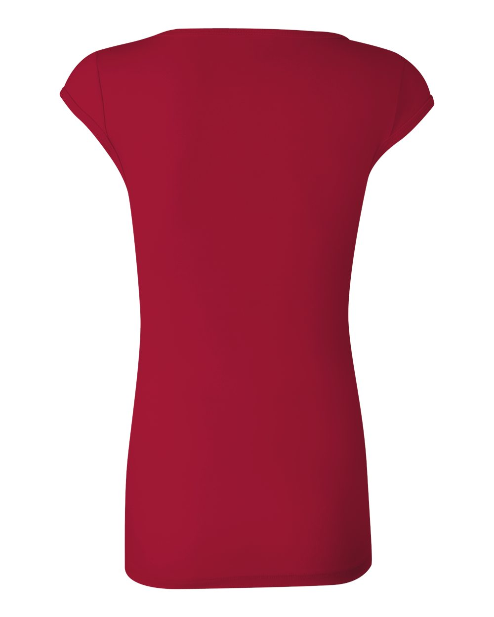 Bella-Canvas-Women-039-s-Sheer-Mini-Rib-Cap-Sleeve-Deep-V-Neck-T-Shirt-B8705-S-2XL thumbnail 10