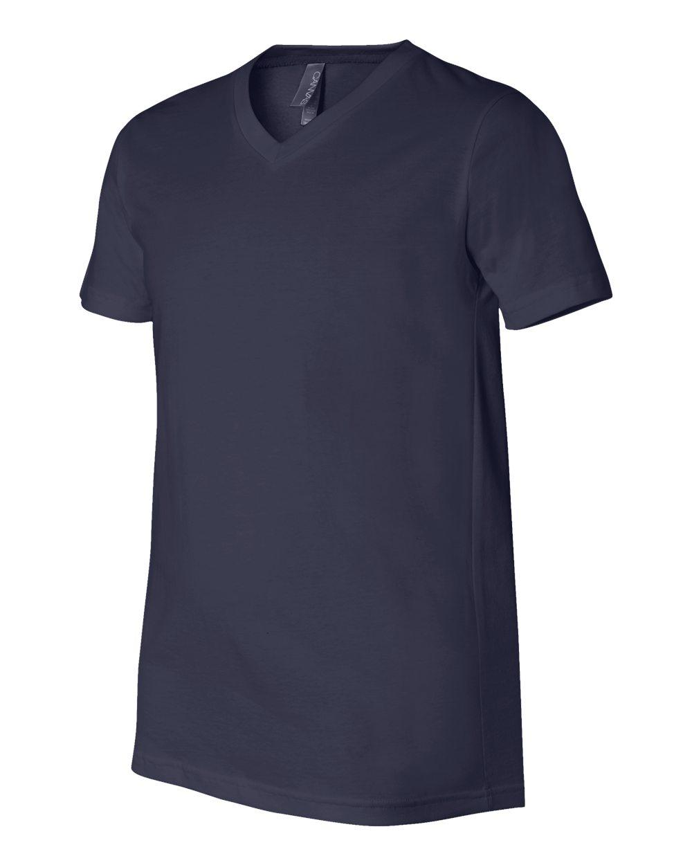 Bella-Canvas-Men-039-s-Jersey-Short-Sleeve-V-Neck-T-Shirt-3005-XS-3XL thumbnail 33