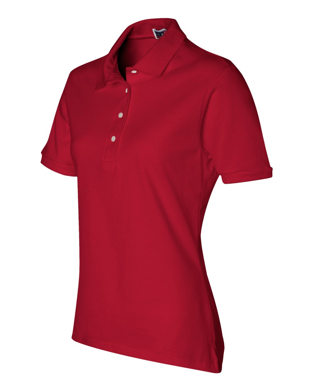 Jerzees-Women-039-s-5-6-oz-50-50-Jersey-Polo-with-SpotShield-437W-S-2XL thumbnail 3