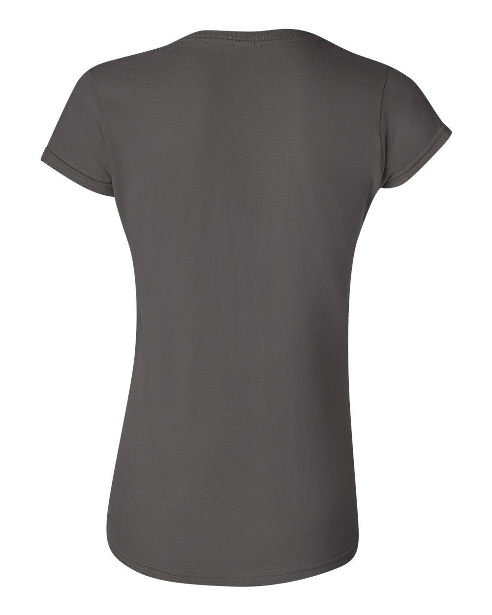 0e1896ef Gildan Womens Softstyle 4.5 oz. Junior Fit T-Shirt G640L Size S-2XL ...
