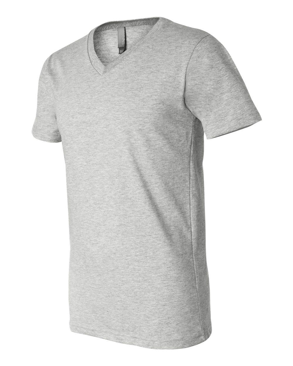 Bella-Canvas-Men-039-s-Jersey-Short-Sleeve-V-Neck-T-Shirt-3005-XS-3XL thumbnail 61