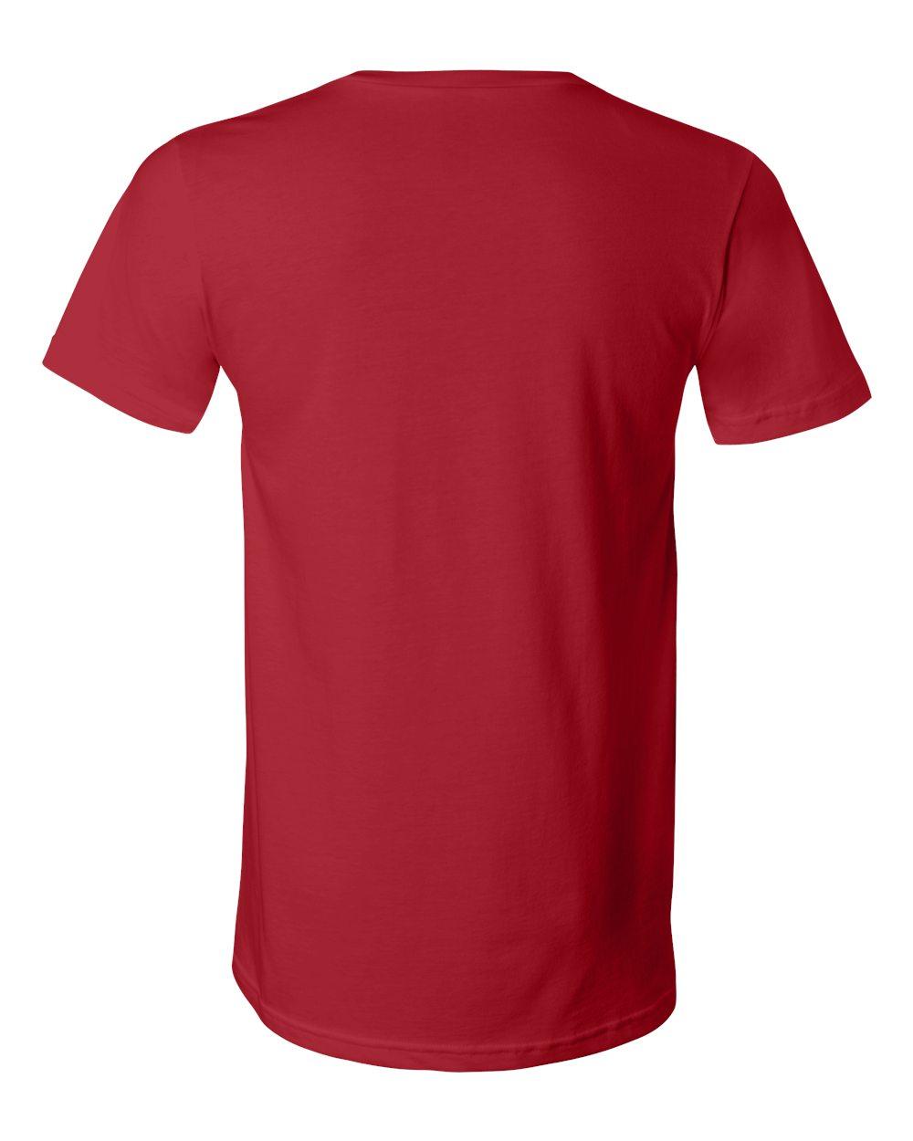 Bella-Canvas-Men-039-s-Jersey-Short-Sleeve-V-Neck-T-Shirt-3005-XS-3XL thumbnail 28