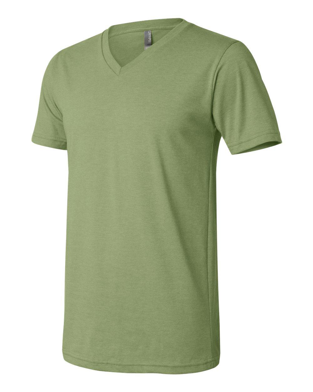 Bella-Canvas-Men-039-s-Jersey-Short-Sleeve-V-Neck-T-Shirt-3005-XS-3XL thumbnail 70