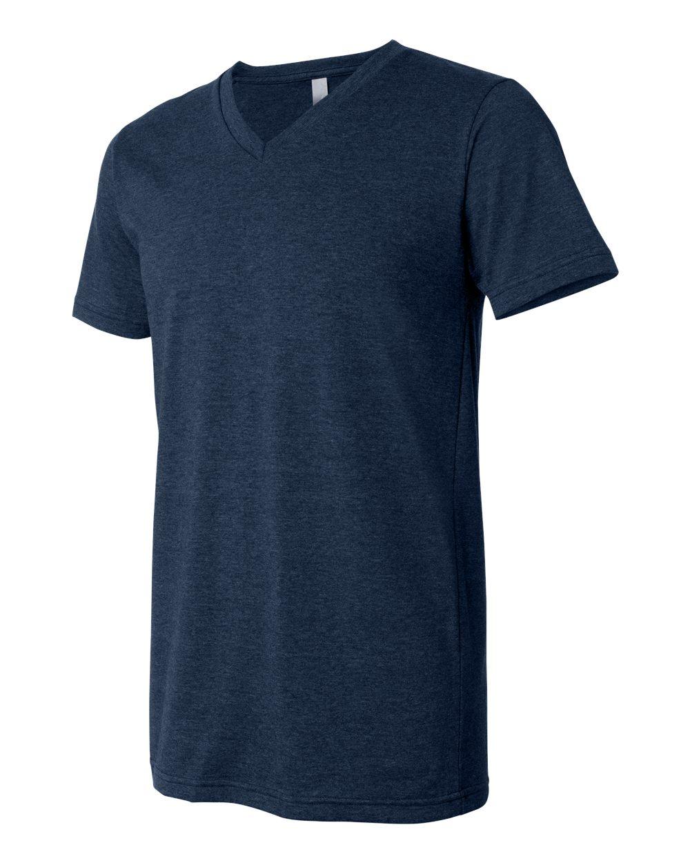 Bella-Canvas-Men-039-s-Jersey-Short-Sleeve-V-Neck-T-Shirt-3005-XS-3XL thumbnail 64