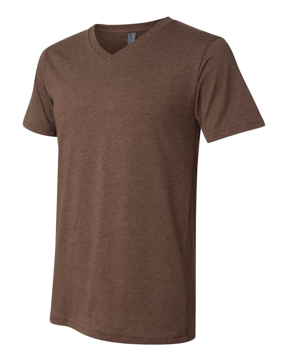Bella-Canvas-Men-039-s-Jersey-Short-Sleeve-V-Neck-T-Shirt-3005-XS-3XL thumbnail 58