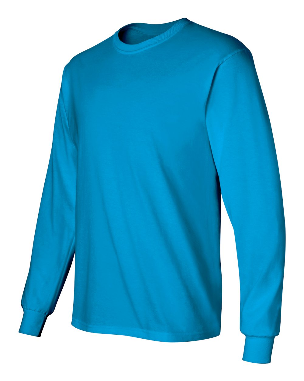 Gildan-Men-039-s-Ultra-Cotton-6-oz-Long-Sleeve-T-Shirt-G240-S-5XL thumbnail 99