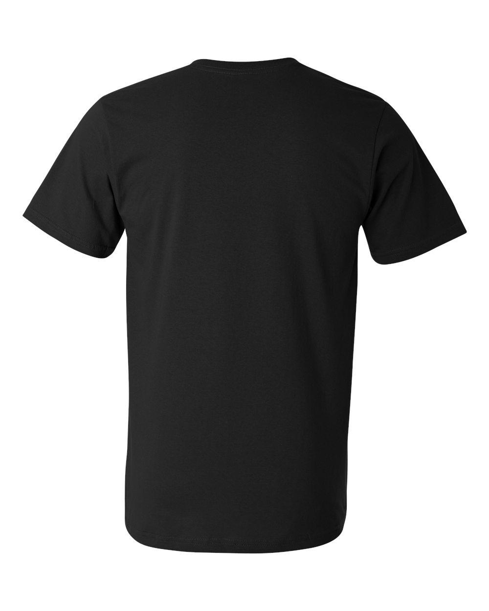 Anvil-Men-039-s-Lightweight-V-Neck-T-Shirt-982-S-3XL thumbnail 28