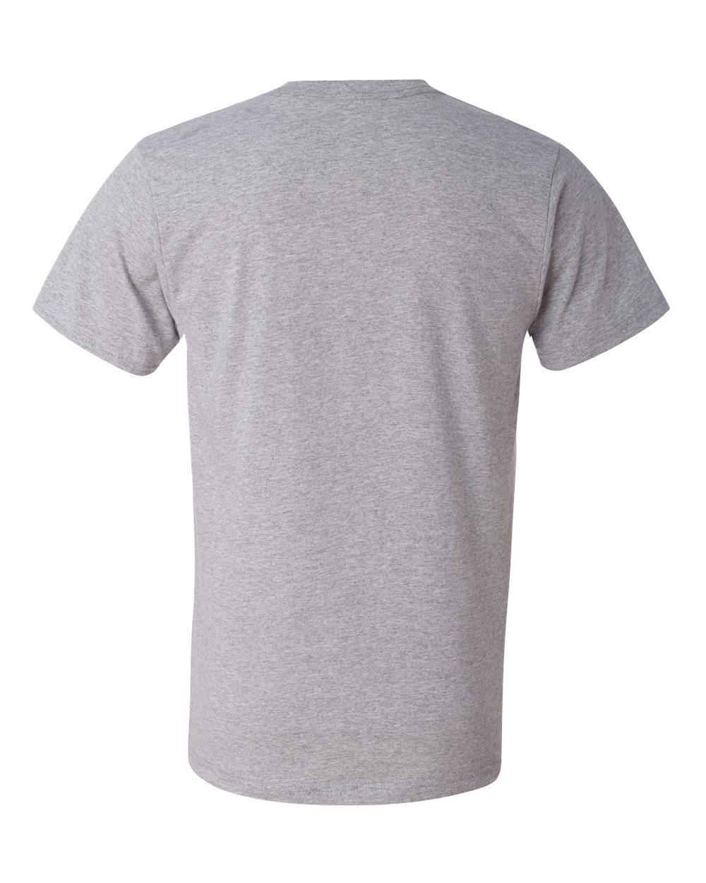 Anvil-Men-039-s-Lightweight-V-Neck-T-Shirt-982-S-3XL thumbnail 16