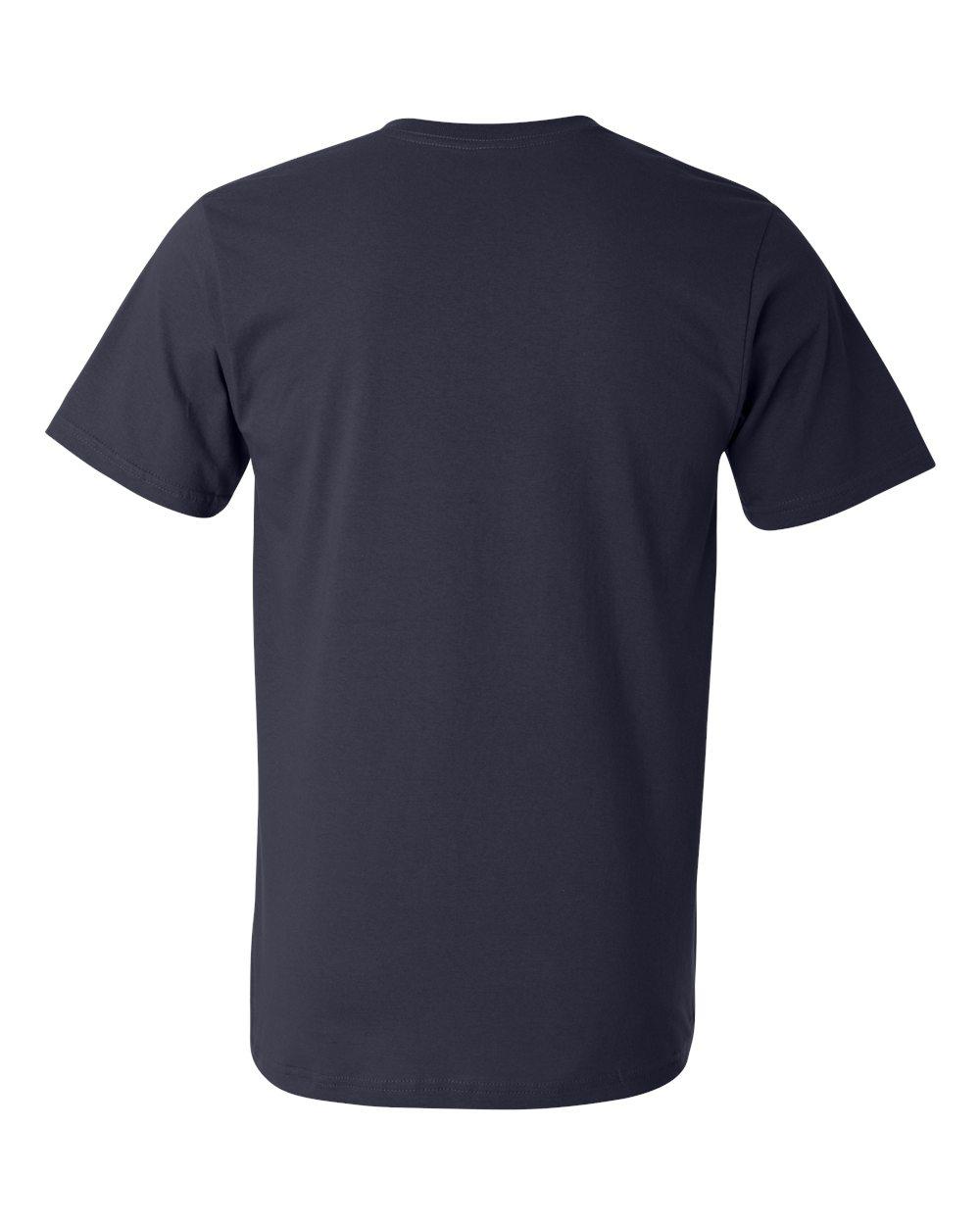 Anvil-Men-039-s-Lightweight-V-Neck-T-Shirt-982-S-3XL thumbnail 19