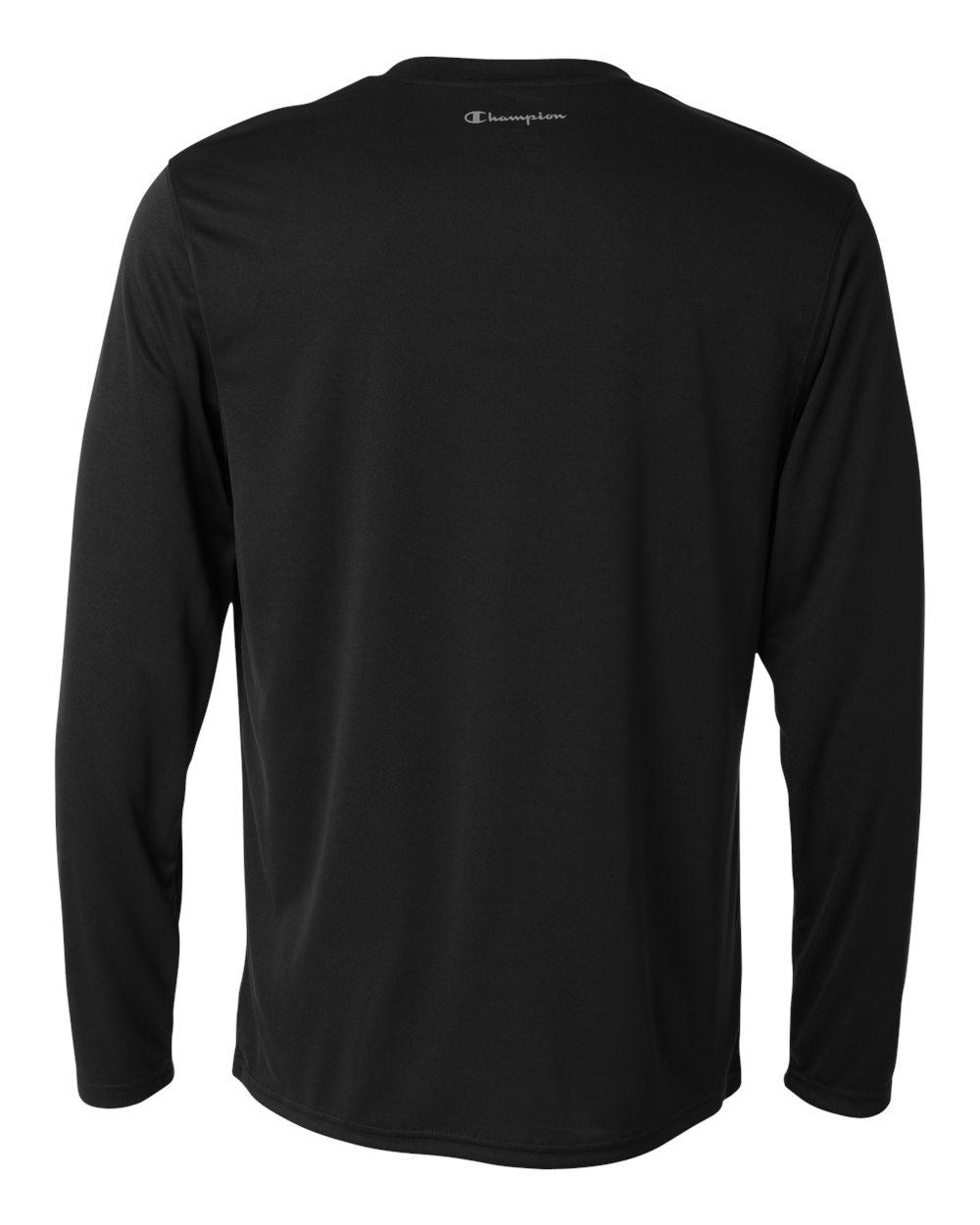 Champion-Men-039-s-Double-Dry-4-1-oz-Long-Sleeve-Interlock-T-Shirt-CW26-XS-3XL thumbnail 5