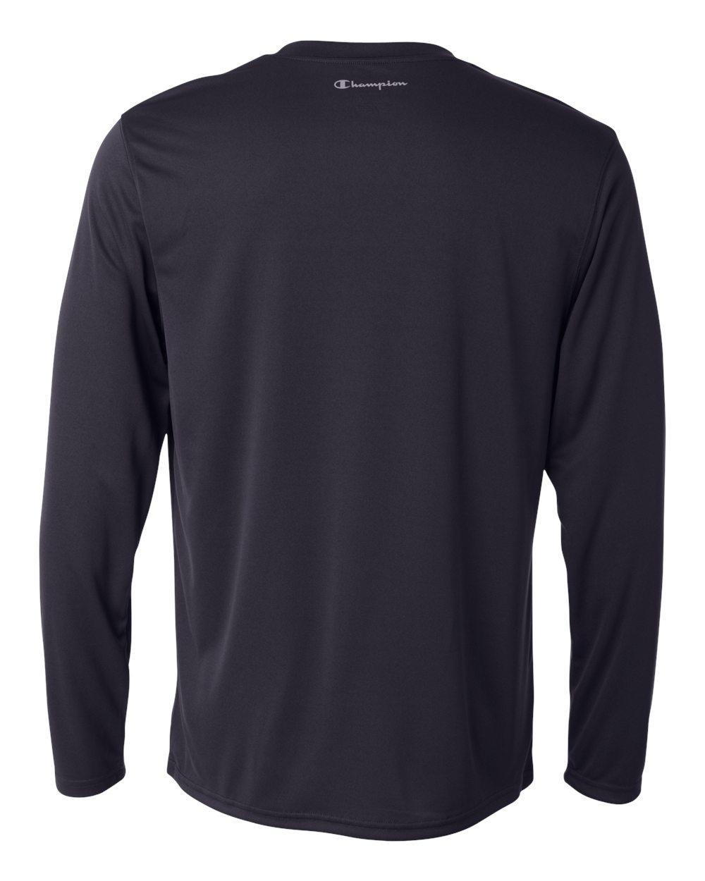 Champion-Men-039-s-Double-Dry-4-1-oz-Long-Sleeve-Interlock-T-Shirt-CW26-XS-3XL thumbnail 14