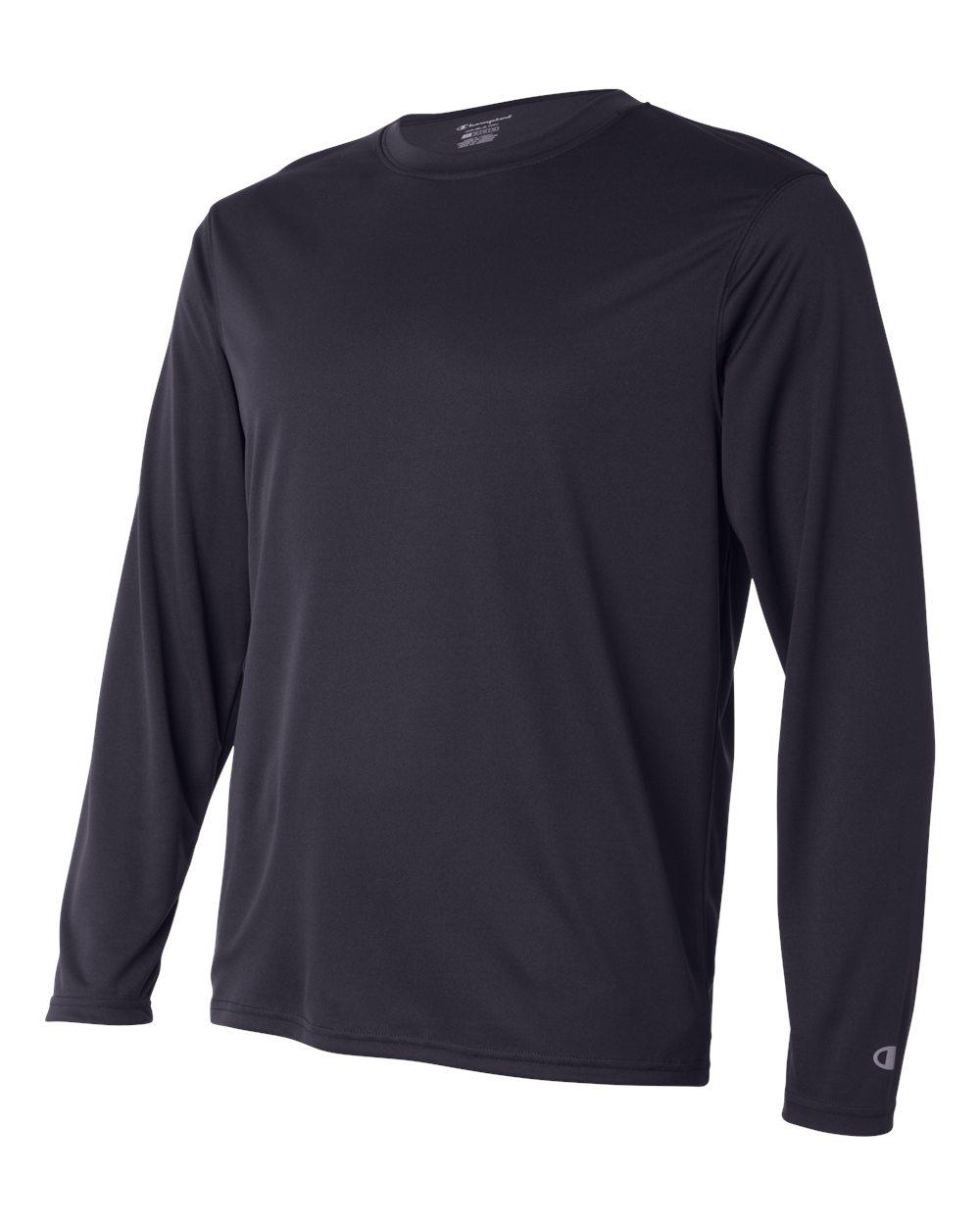 Champion-Men-039-s-Double-Dry-4-1-oz-Long-Sleeve-Interlock-T-Shirt-CW26-XS-3XL thumbnail 13