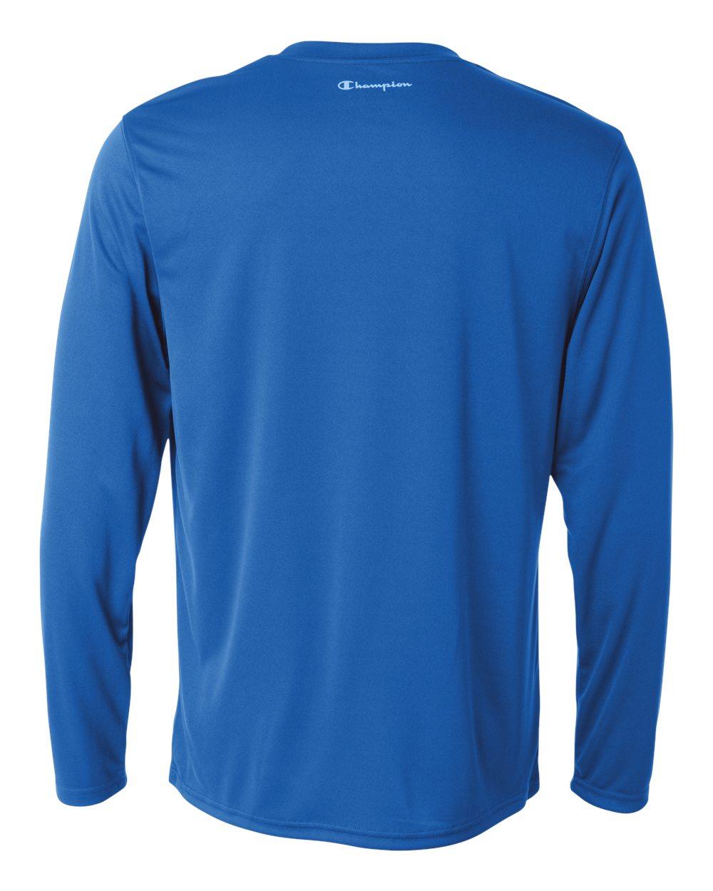 Champion-Men-039-s-Double-Dry-4-1-oz-Long-Sleeve-Interlock-T-Shirt-CW26-XS-3XL thumbnail 20