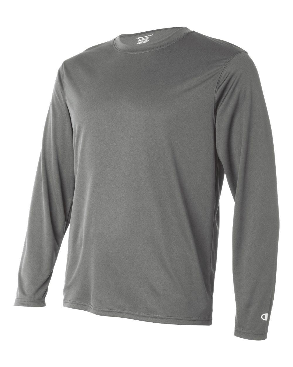 Champion-Men-039-s-Double-Dry-4-1-oz-Long-Sleeve-Interlock-T-Shirt-CW26-XS-3XL thumbnail 29