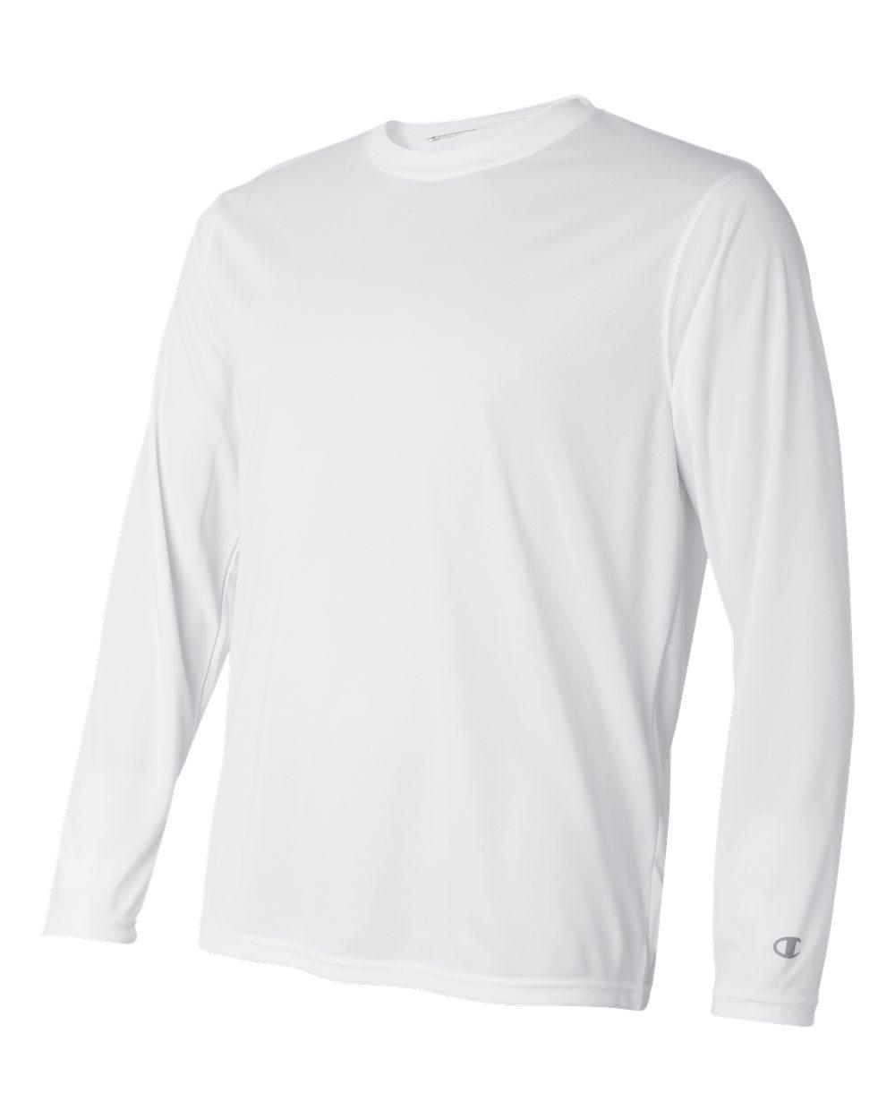 Champion-Men-039-s-Double-Dry-4-1-oz-Long-Sleeve-Interlock-T-Shirt-CW26-XS-3XL thumbnail 33
