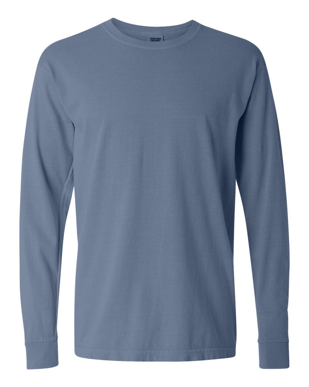 Long Sleeve V Neck T Shirt Mens