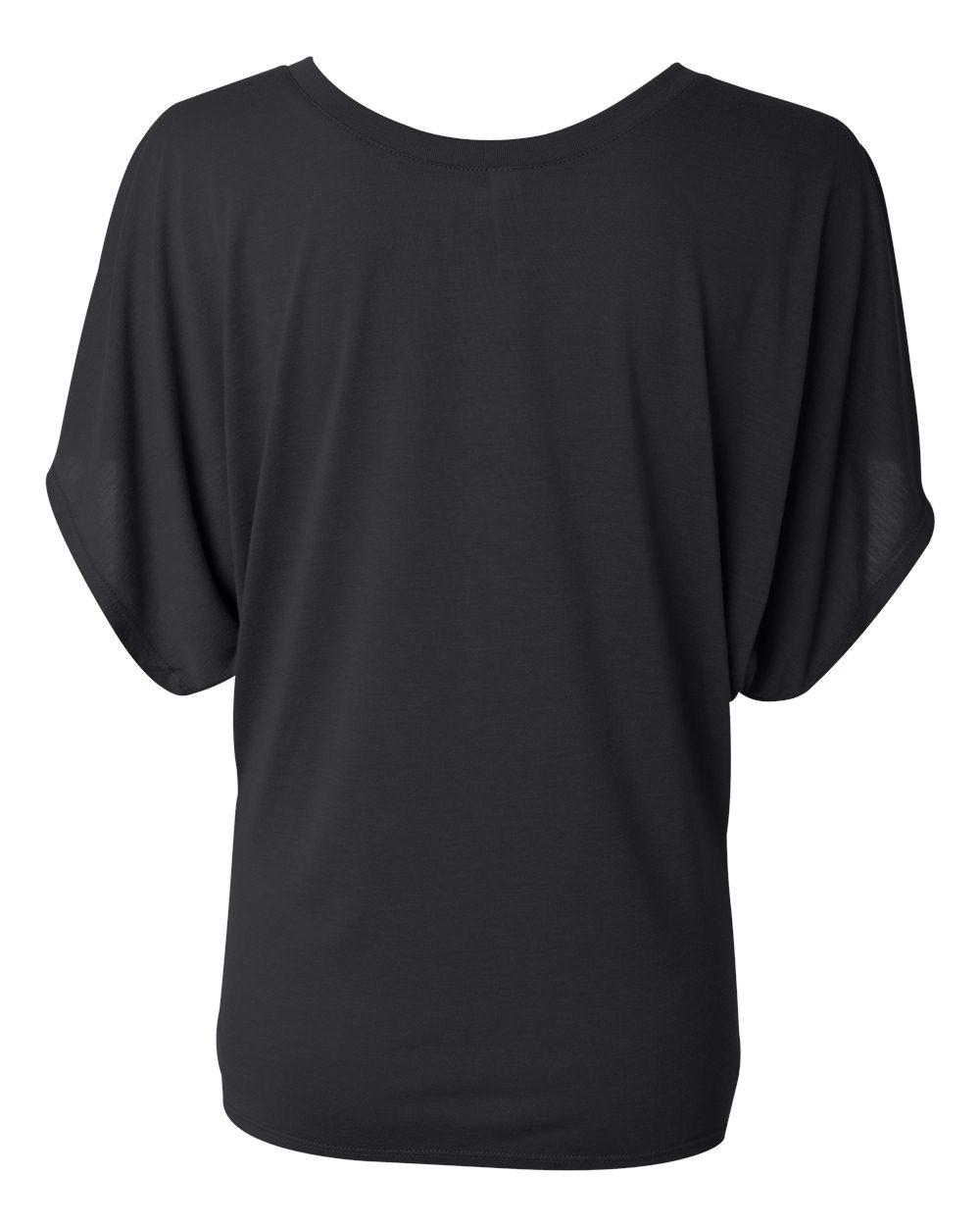 Bella-Canvas-Women-039-s-Flowy-Draped-Sleeve-Dolman-T-Shirt-8821-S-2XL thumbnail 4
