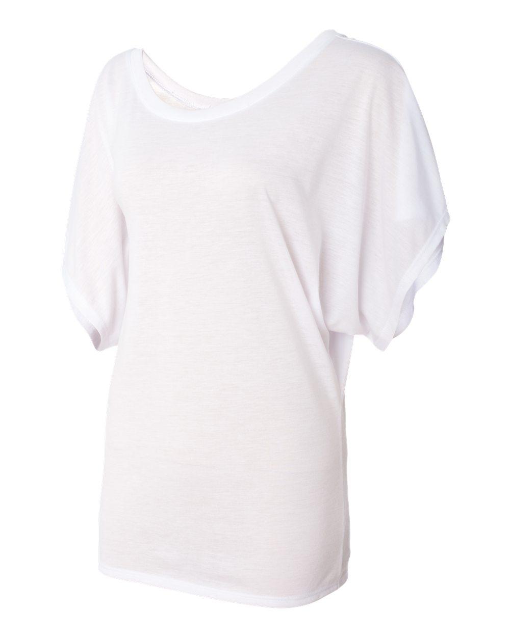 Bella-Canvas-Women-039-s-Flowy-Draped-Sleeve-Dolman-T-Shirt-8821-S-2XL thumbnail 30