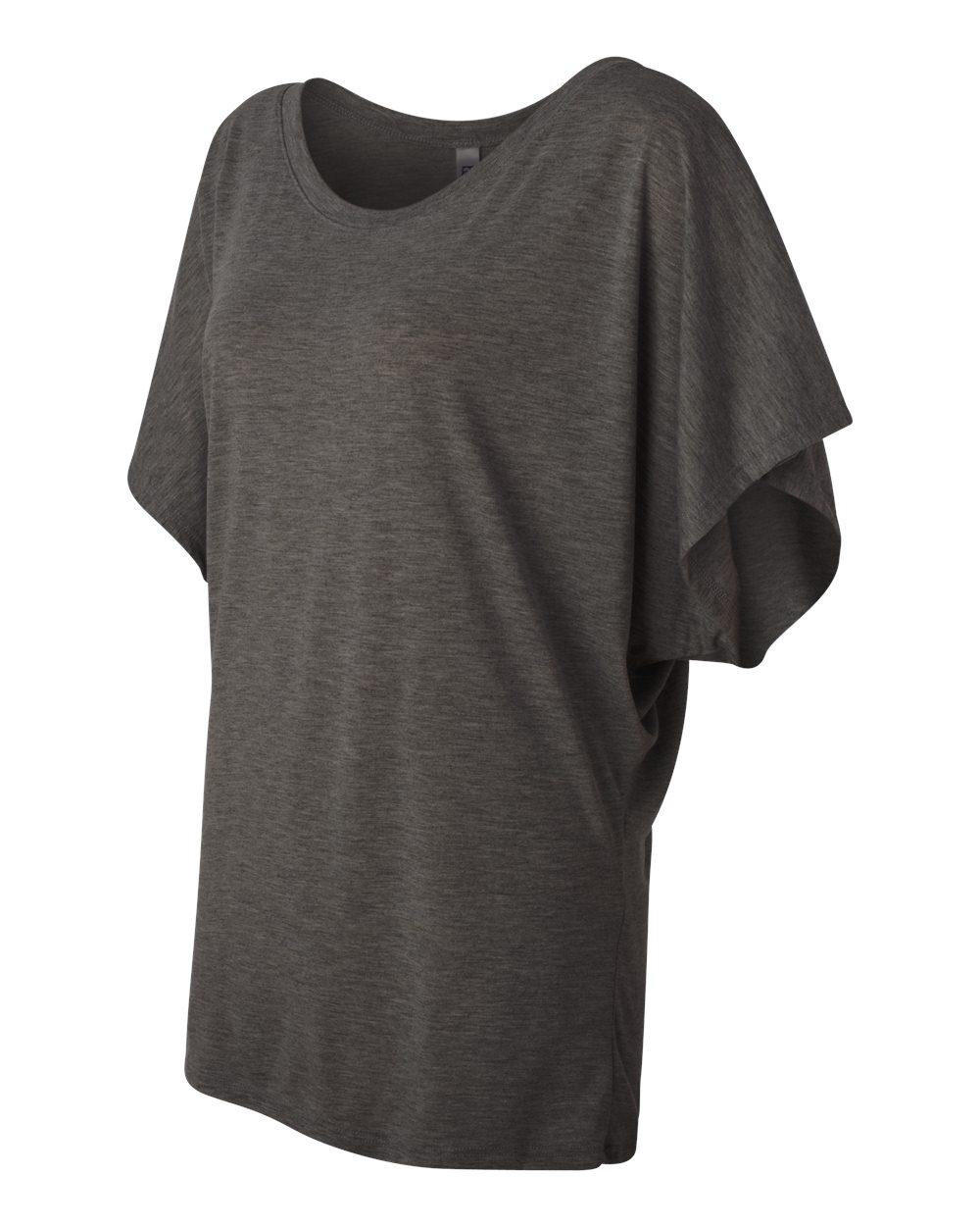 Bella-Canvas-Women-039-s-Flowy-Draped-Sleeve-Dolman-T-Shirt-8821-S-2XL thumbnail 21