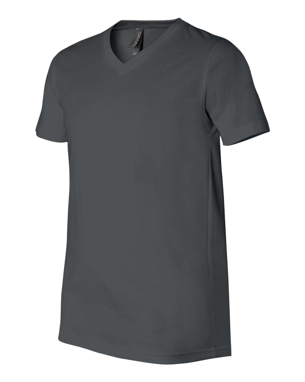 Bella-Canvas-Men-039-s-Jersey-Short-Sleeve-V-Neck-T-Shirt-3005-XS-3XL thumbnail 24