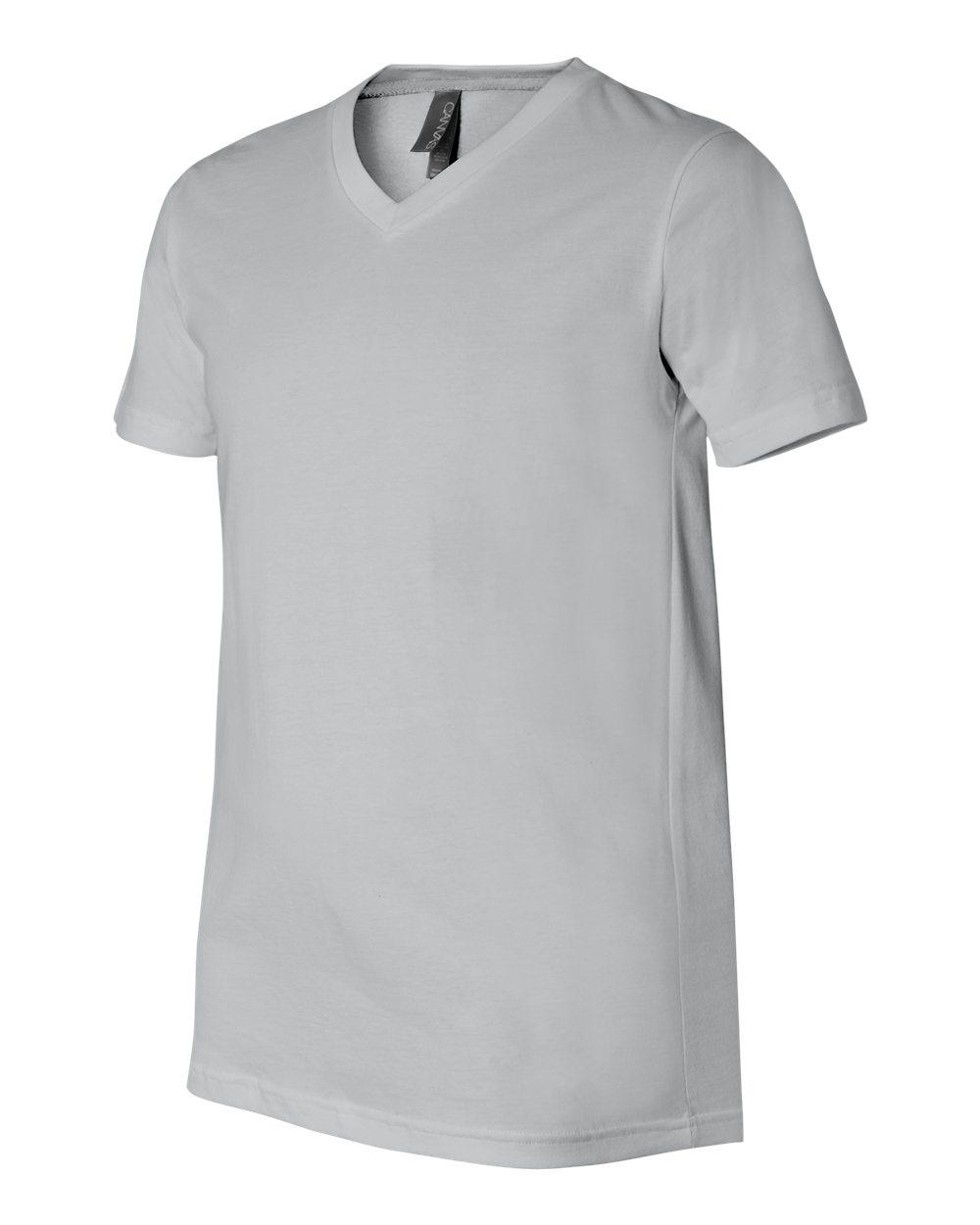 Bella-Canvas-Men-039-s-Jersey-Short-Sleeve-V-Neck-T-Shirt-3005-XS-3XL thumbnail 21