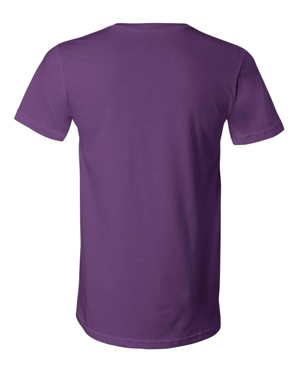 Bella-Canvas-Men-039-s-Jersey-Short-Sleeve-V-Neck-T-Shirt-3005-XS-3XL thumbnail 50
