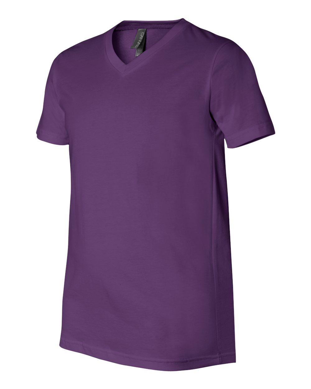 Bella-Canvas-Men-039-s-Jersey-Short-Sleeve-V-Neck-T-Shirt-3005-XS-3XL thumbnail 49