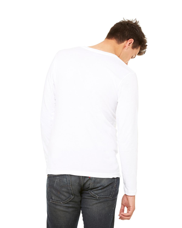 Bella-Canvas-Unisex-Jersey-Long-Sleeve-V-Neck-T-Shirt-3425-XS-2XL thumbnail 16