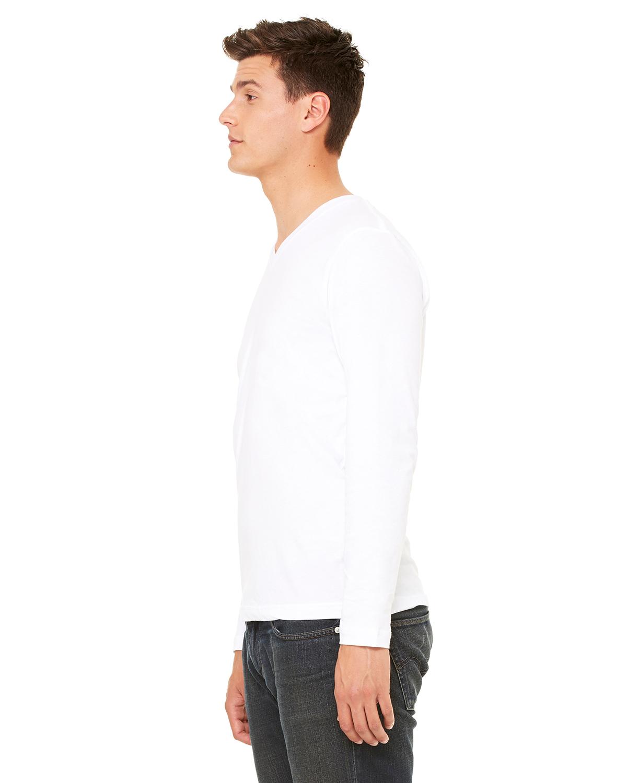 Bella-Canvas-Unisex-Jersey-Long-Sleeve-V-Neck-T-Shirt-3425-XS-2XL thumbnail 15