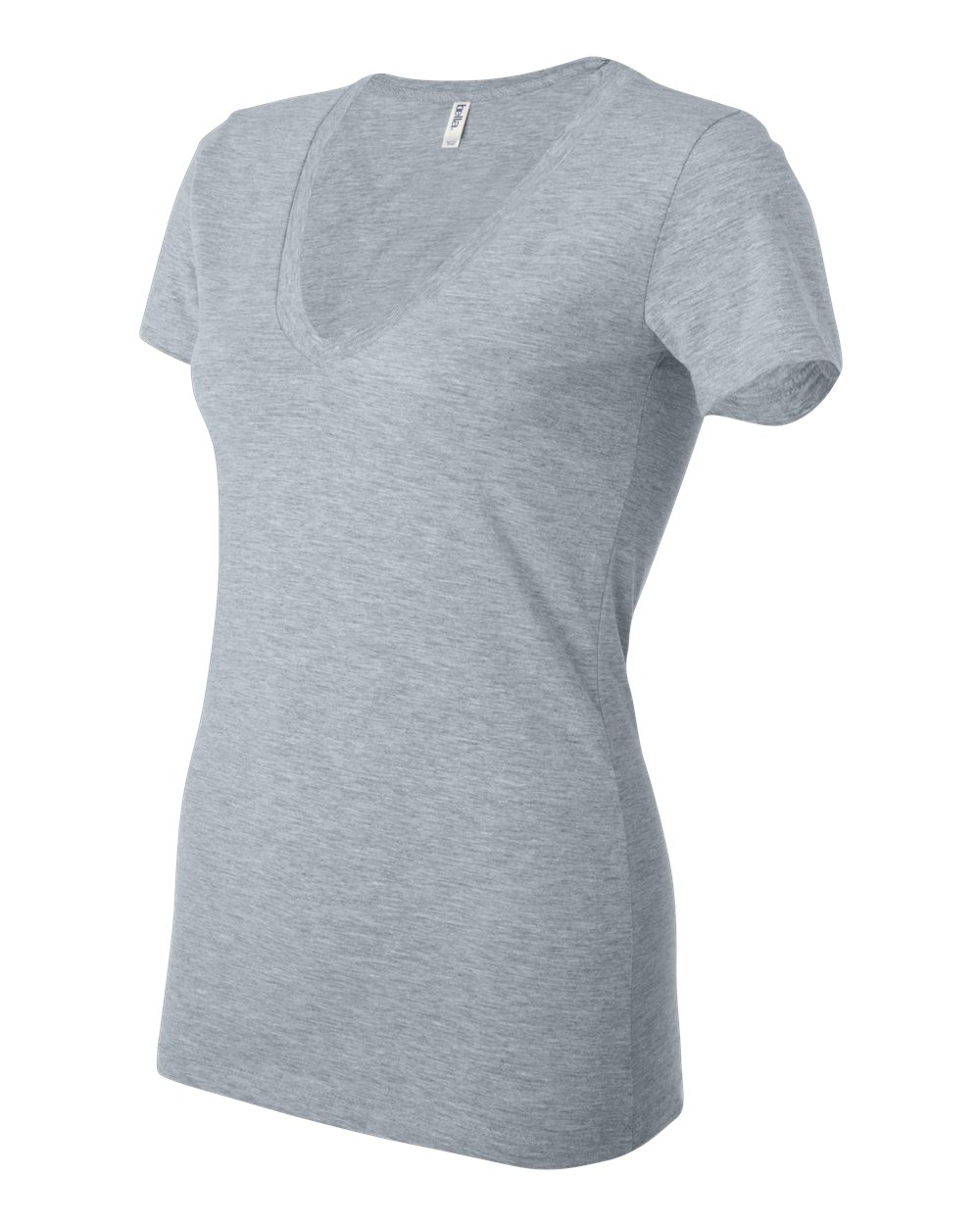 Bella-Canvas-Women-039-s-Jersey-Short-Sleeve-Deep-V-Neck-T-Shirt-B6035-S-2XL thumbnail 66
