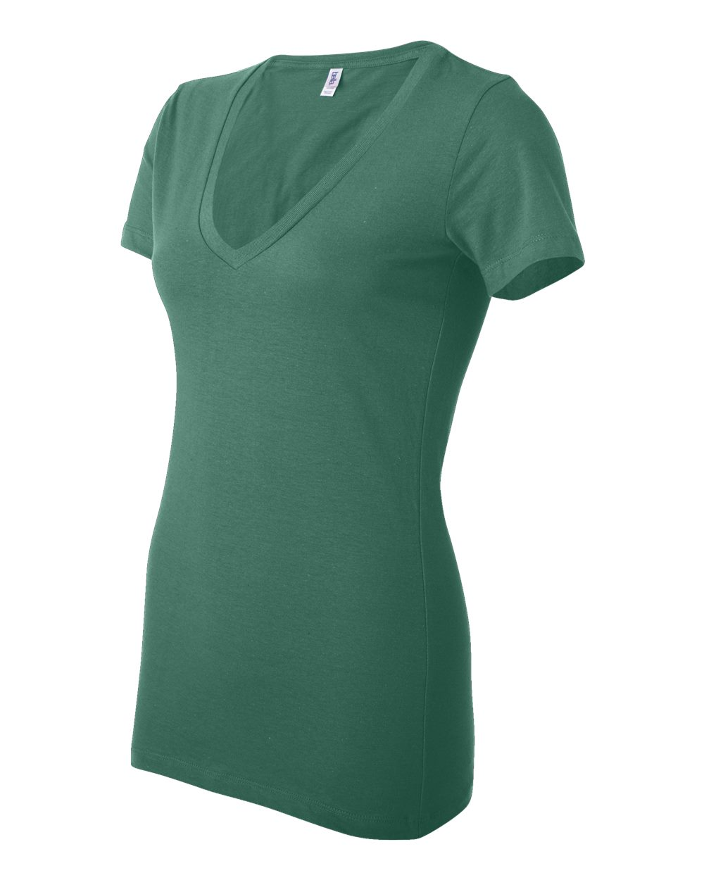 Bella-Canvas-Women-039-s-Jersey-Short-Sleeve-Deep-V-Neck-T-Shirt-B6035-S-2XL thumbnail 75