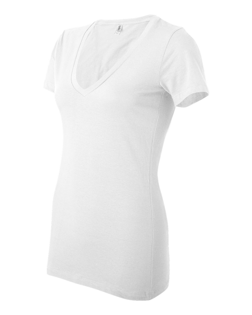 Bella-Canvas-Women-039-s-Jersey-Short-Sleeve-Deep-V-Neck-T-Shirt-B6035-S-2XL thumbnail 63