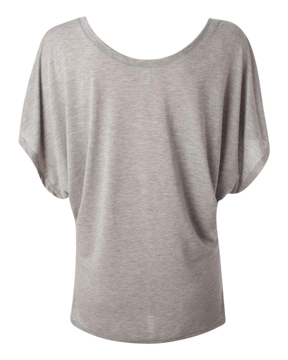 Bella-Canvas-Women-039-s-Flowy-Draped-Sleeve-Dolman-T-Shirt-8821-S-2XL thumbnail 16
