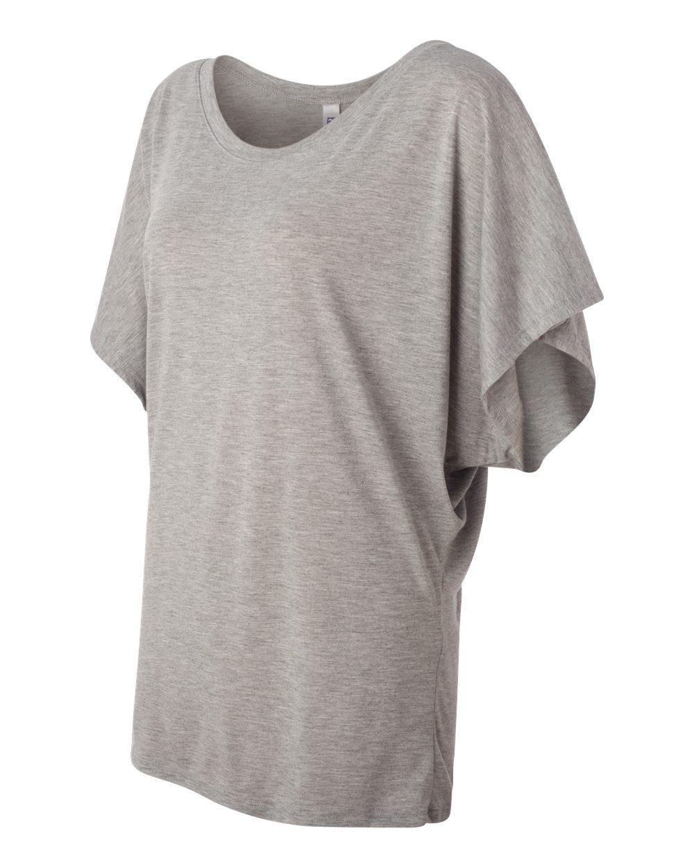 Bella-Canvas-Women-039-s-Flowy-Draped-Sleeve-Dolman-T-Shirt-8821-S-2XL thumbnail 15